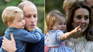 Prinz George & Prinz William, Prinzessin Charlotte & Herzogin Kate