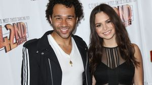 "Corbin Bleu und Sasha Clements bei der ""Opening Night of 42nd Street"" in Hollywood"