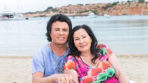 Einsam: Costa Cordalis' Tod belastet seine Witwe Ingrid sehr