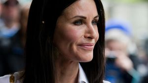 Courteney Cox bei einer Award-Show in London