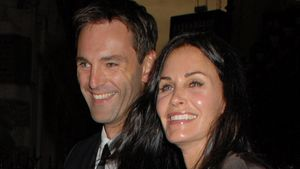 Courteney Cox, Johnny McDaid und Coco Arquette