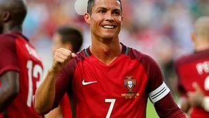 Cristiano Ronaldo beim Testspiel Portugal gegen Estland in Lissabon