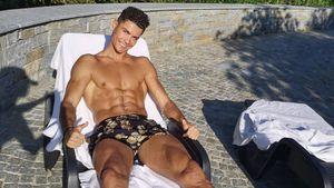 Sexy wie eh und je! Cristiano Ronaldo zeigt stählernen Body