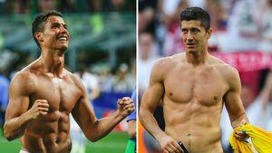 Cristiano Ronaldo und Robert Lewandowski