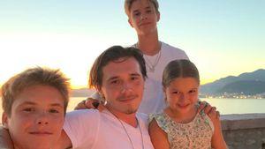 Süße 17 Jahre: So gratulieren Beckhams Geburtstagskind Romeo