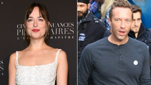Dakota Johnson & Chris Martin: Als Paar auf Promi-B-Day