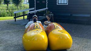 Ariana Grande teilt süße Flitterwochen-Pics aus Amsterdam