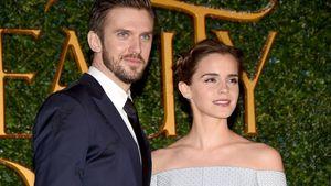 """""""Die Schöne und das Biest""""-Darsteller Dan Stevens und Emma Watson"""