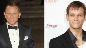 Promizwillinge? Vinzenz Kiefer und Daniel Craig
