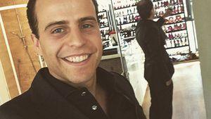 Für gerade Zähne: Daniel Kolenitchenko trägt Schienen!