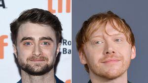 Daniel Radcliffe gratuliert Kollege Rupert Grint zum Baby