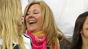 Jogis Glücksfrau ist da: Daniela guckt WM-Finale