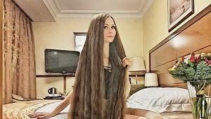 13 Jahre kein Frisör: Real-Life-Loreley will Rapunzel werden