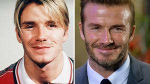 David Beckham früher und heute