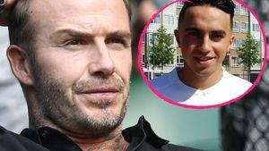 David Beckham und Abdelhak Nouri