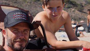 David und Cruz Beckham