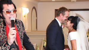 Las-Vegas-Hochzeit! Lily Allen und David haben sich getraut