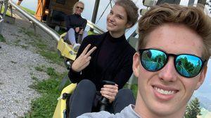 Beide Rennfahrer: So ist es für David Schumacher & Freundin