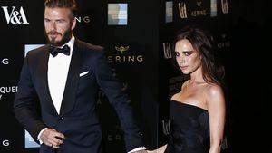 David und Victoria Beckham in London