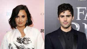 Demi Lovato und ihr Max knutschen in Justin und Aris Video