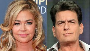 Vor den Kids: Denise Richards überspielte Charlies Eskapaden