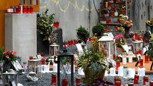 Denkmal zur Loveparade-Katastrophe 2010
