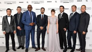 "Der Cast von ""Rogue One: A Star Wars Story"" bei der Premiere 2016 in London"