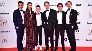 "Der ""Club der roten Bänder""-Cast beim Bambi 2017 in Berlin"