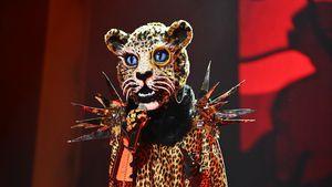 """Erstes Mal: Der """"The Masked Singer""""-Leopard singt im Stehen!"""