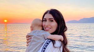 """Krabbelt richtig flott"": Diana June gibt neues Baby-Update"