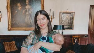 Vier Monate alt: Diana Junes süße Liebeserklärung an Adrian