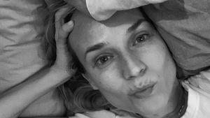 Spaß mit Baby: Deshalb mag Diane Kruger ihre Tränensäcke!