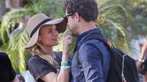 Diane Kruger und Joshua Jackson beim Coachella-Festival 2013
