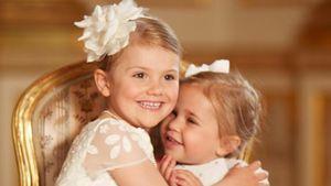 Einfach bezaubernd: Prinzessin Estelle & Leonore sind BFFs!