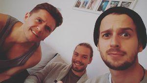 Die Ex-AWZ-Kollegen Bejo Dohmen, Julian Bayer und Michael Jassin