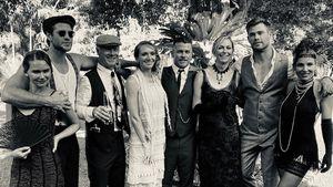 """Familie Hemsworth feiert Mottoparty im """"Peaky Blinders""""-Stil"""