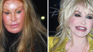 Dolly Parton und Pete Burns