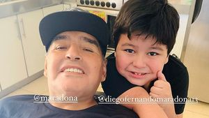 Kurz vor Tod: Maradonna richtete rührende Worte an Sohn (7)