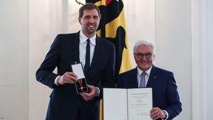 Große Ehre: Dirk Nowitzki bekommt das Bundesverdienstkreuz
