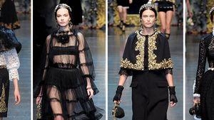 Mailand: Dolce&Gabbana begeben sich auf Zeitreise