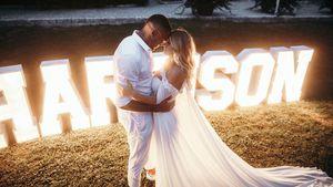 Hochzeitstag: Sarah Harrison schwärmt von ihrem Dominic