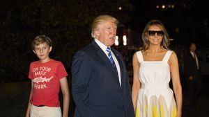 Sonnenbrille bei Nacht? Melania Trump sorgt für Aufreger!