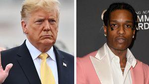 Präsident Trump bietet an, ASAP Rockys Kaution zu zahlen!