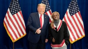 Nach Begnadigung: Lil Wayne bedankt sich bei Donald Trump