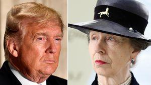 Null Bock auf Donald Trump: Das Netz feiert Prinzessin Anne