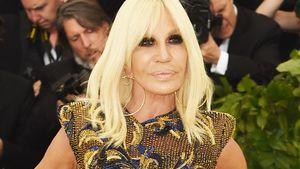 Donatella Versace versteigert Praktikumsplatz!