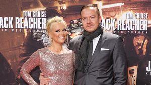 """Doreen Steinert mit ihrem neuen Freund bei der """"Jack Reacher 2""""-Premiere in Berlin"""