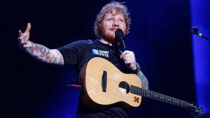 Ed Sheeran bei einem Konzert in Auckland