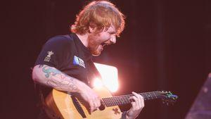 Ed Sheeran auf einem Konzert in Auckland