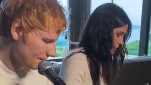 Klangvoll: Ed Sheeran und Courteney Cox musizieren zusammen!